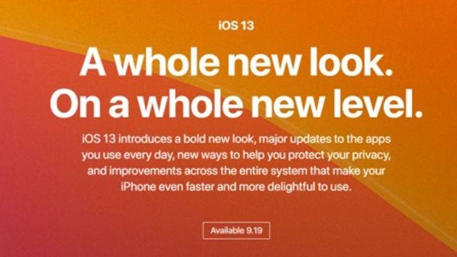 Apple เตรียมปล่อย iOS 13 วันที่ 19 ก.ย. ส่วน iPadOS มา 30 ก.ย. คาดมาพร้อม iOS 13.1