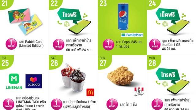 AIS Points 1 พอยท์ แลกรับ Pepsi Can 245 มล. 1 กระป๋อง ที่ FamilyMart
