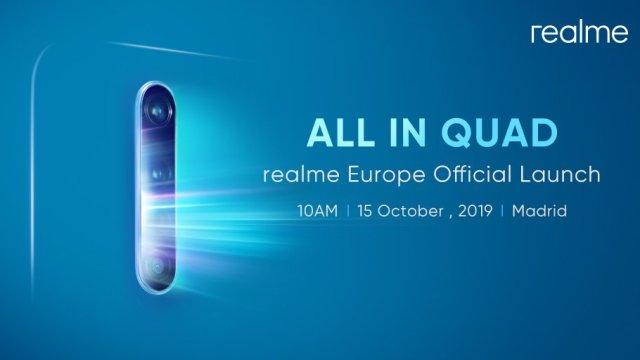 realme X2 Pro เตรียมเปิดตัวที่กรุงมาดริด ประเทศสเปน 15 ต.ค. นี้