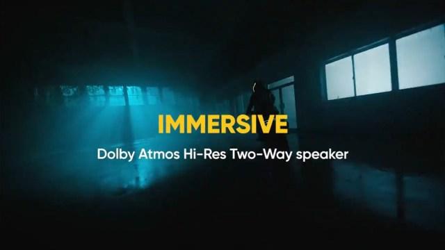 realme X2 Pro จะมีลำโพงสเตอริโอคู่ พร้อม Dolby Atmos ระบบเสียง Hi-Res
