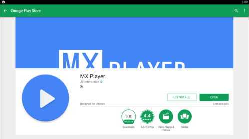 Download Mx player for pc free download