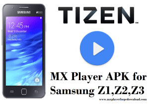 mx player for tizen Os