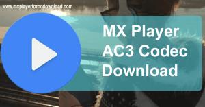 Mx Player AC3