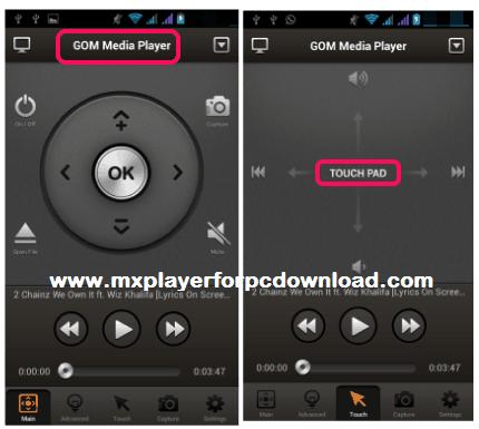 control GOM Media Player