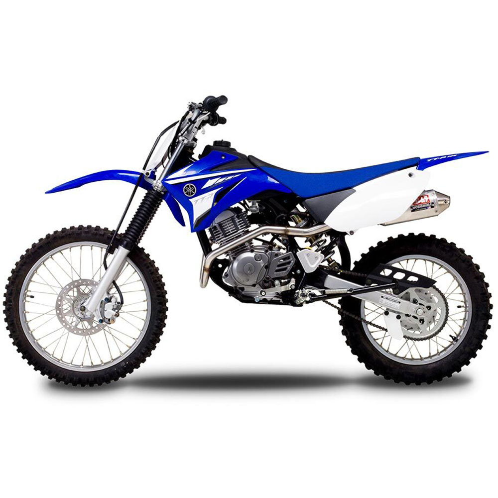 yoshimura yamaha ttr125 l 00 09 rs2 stainless full system exhaust at mxstore