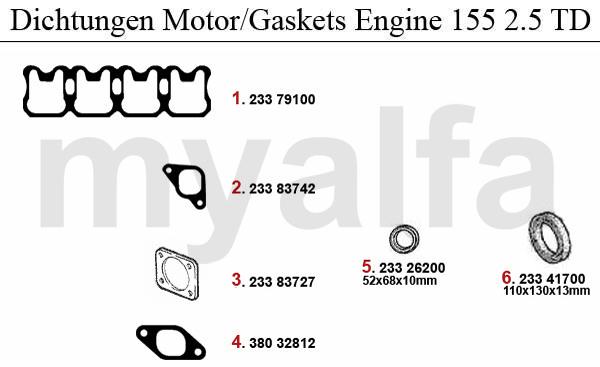 Alfa Romeo 155 Engine, Engine Parts & Alfa Romeo Piston