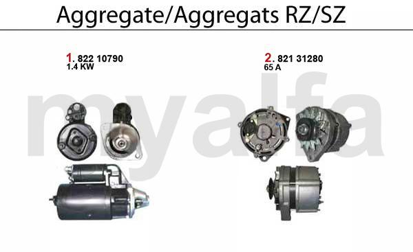 Alfa Romeo RZ/SZ Engine, Engine Parts & Alfa Romeo Piston