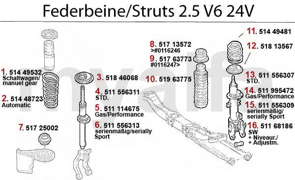 Alfa Romeo 156 STRUT 2.5 V6 24V