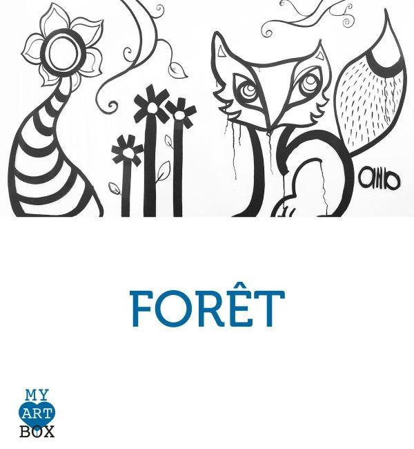 Modèle d'inspiration FORET créé par aNa
