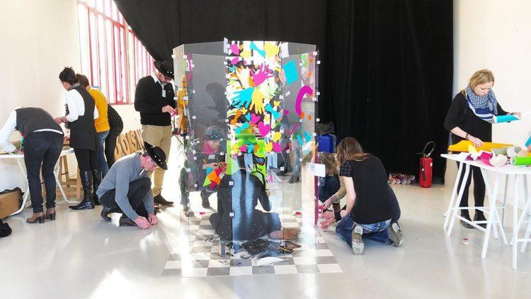 tube géant aNa animation fresque serious play pour team building et séminaire