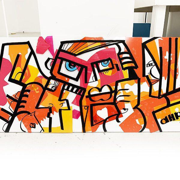 Tableau Plexi de l'artiste aNa sur My Art Box disponible dans toute la France