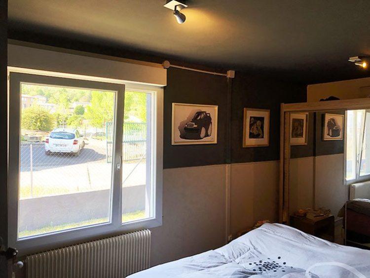 Chambre Parentale ou Bureau 14m2 dans Bureaux et Habitation Local Mixte 190 M2 sur 650 M2 Terrain Plat Clot A Vendre Couzon-au-Mont-d'Or Monts d'Or Lyon Nord