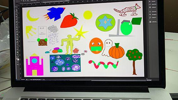 Idée matériel et protocole Webinaire Digital Fresque en ligne