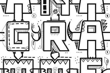 Anagramme est le protocole d'escape game graphique et verbal à distance en télétravail de l'artiste aNa