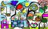 Fresque webinaire Virtuelle Télétravail par aNa artiste