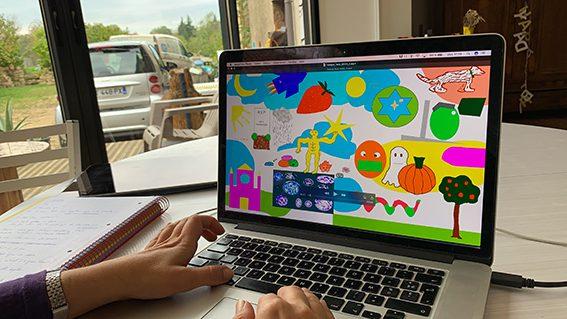 Webinaire Fresque digitale Serious Games aNa artiste live painting numérique