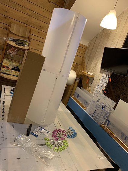 kit de matériel d'expérience artistique gamme totem_box