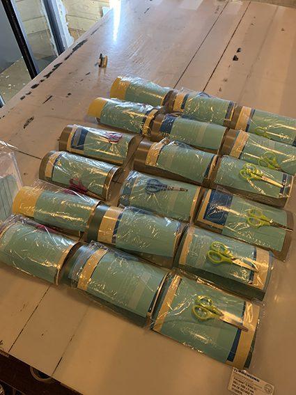 kits individuels de art box pour expérience artistique
