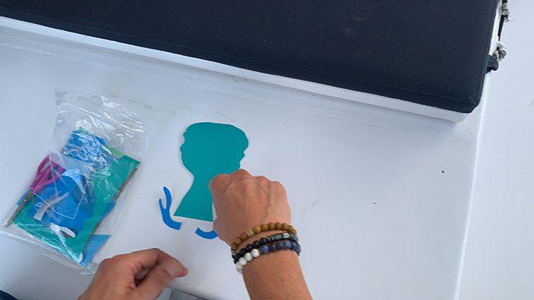 materiel individuel pour team building fresque peinture à lyon
