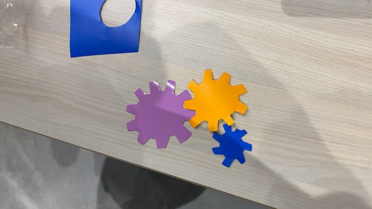 programme original de team building à lyon avec programme dédié et matériel My art box par ana artiste