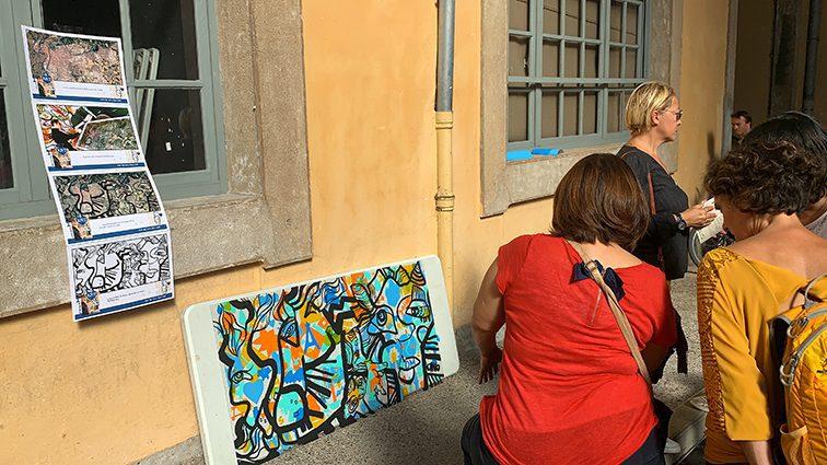 team building art à faire à Lyon pour stimuler la cohésion de ses équipes