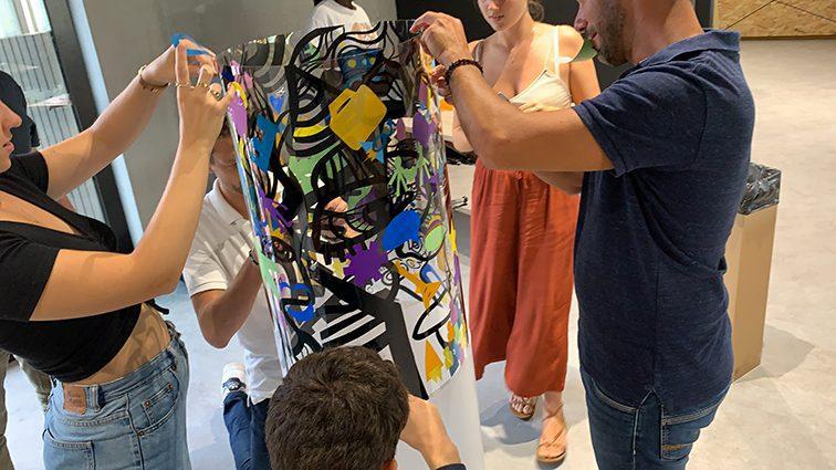 team building créatif à Lyon à faire avec ses équipes pour les fédérer