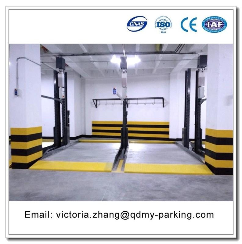 Underground Garage Lift Narrow Garage Parking Equipment Hydrualic Vertical Lifter