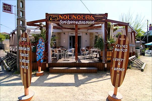 Chez Nounours au Cap Ferret