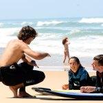 Cours de surf au Cap Ferret