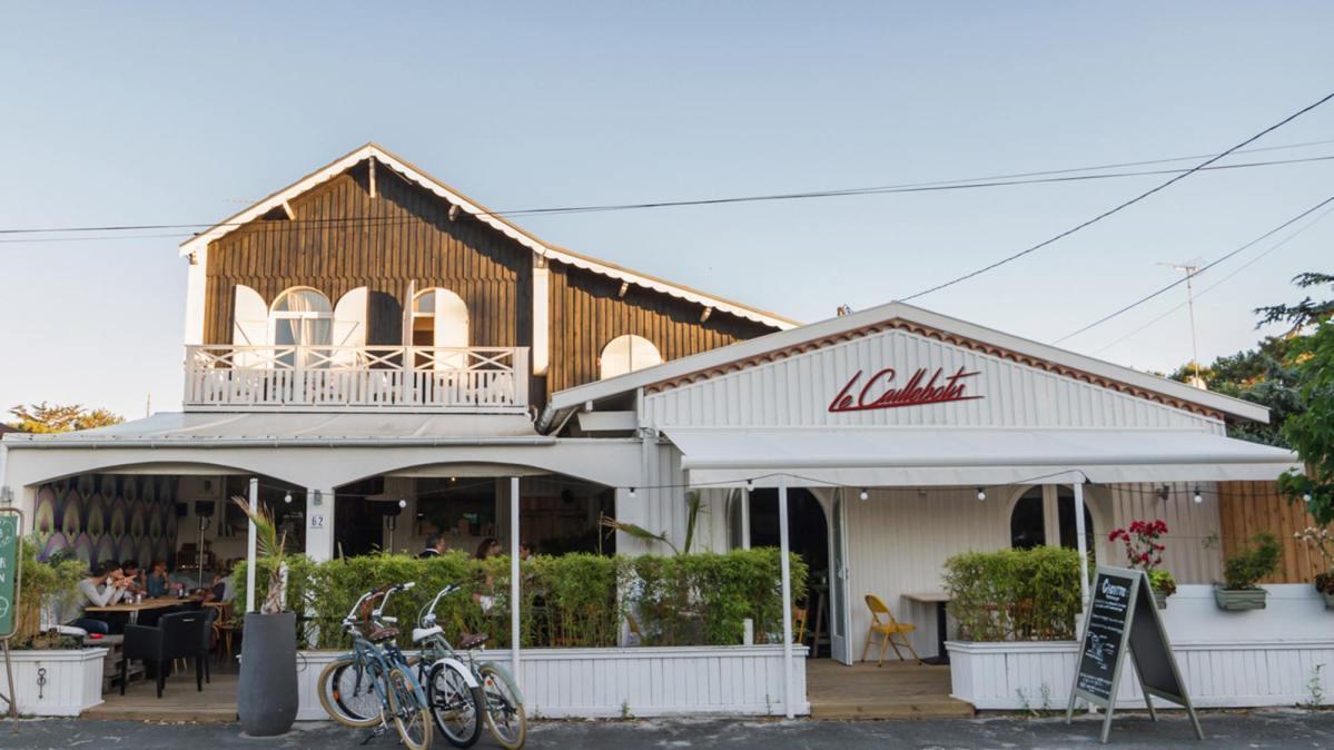Le Caillebotis restaurant bar au Cap Ferret