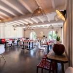 Salle du restaurant Le Caillebotis au Cap Ferret
