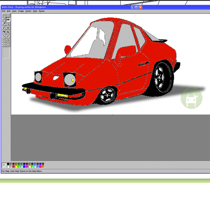 Custom 924s Porsche colored online by Lou-Dino with my-car.fun digital tools
