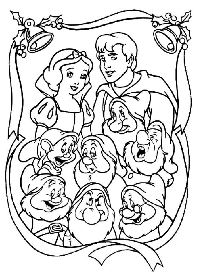 Sleepy Seven Dwarfs Coloring Pages Coloring Pages