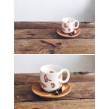 Une jolie tasse renard