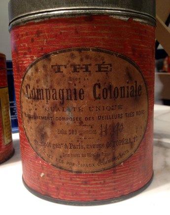 La toute première boîte connue de Compagnie Coloniale