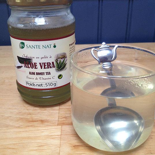 La gelée d'aloe vera à infuser : ma nouvelle addiction
