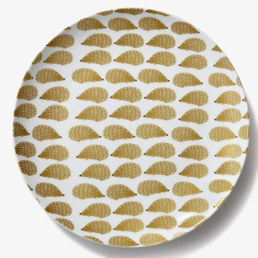 assiette-doree-herisson-monoprix