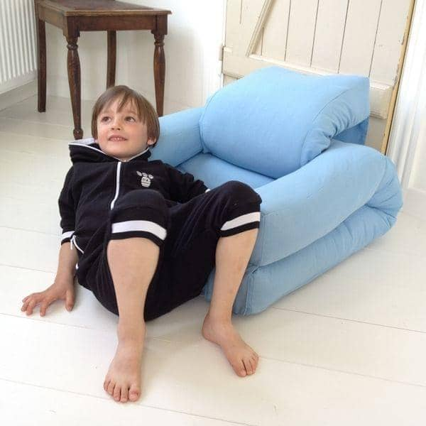 little hippo a children chair that turns into a futon bed in seconds deco and design