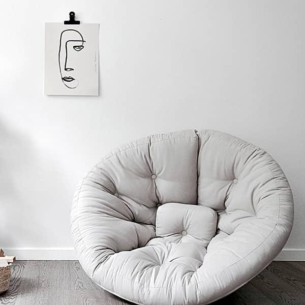 nido nest lounge chair the day futon at night the perfect size for teens