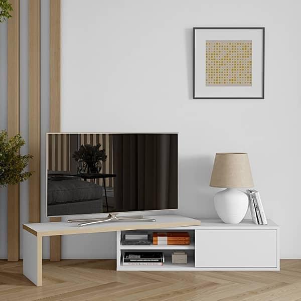 move meuble tv extensible et pivotant
