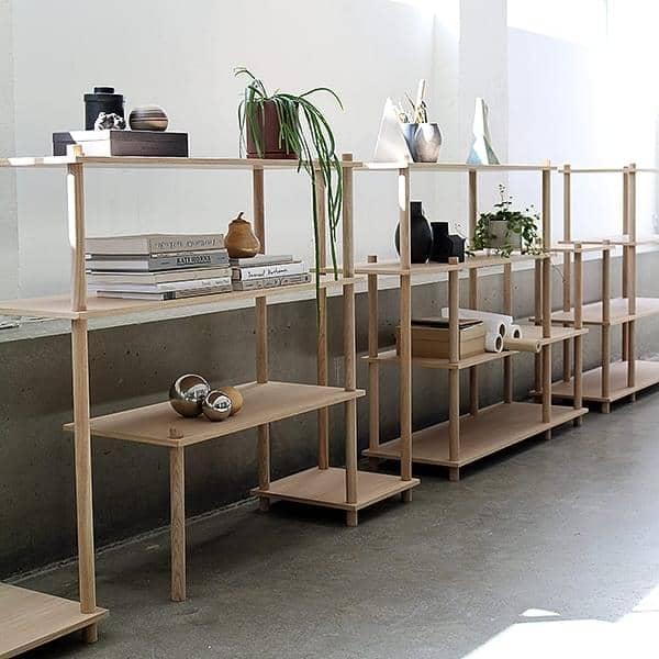 etagere modulaire en bois elevate design et elegante woud