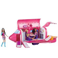 Barbie Gourmet Kitchen Television My Family Fun - Glam Vacation Jet Ultimate Travel ...