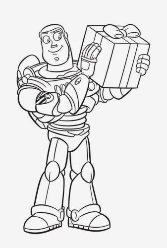 buzz lightyear coloring page # 45