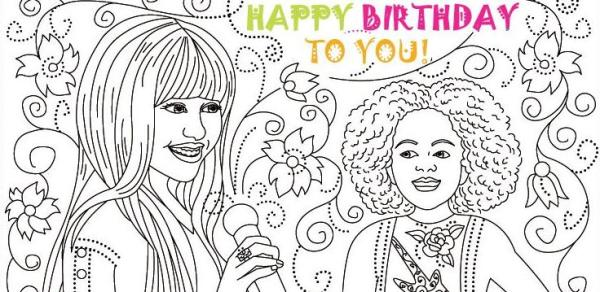 hannah montana coloring pages # 73