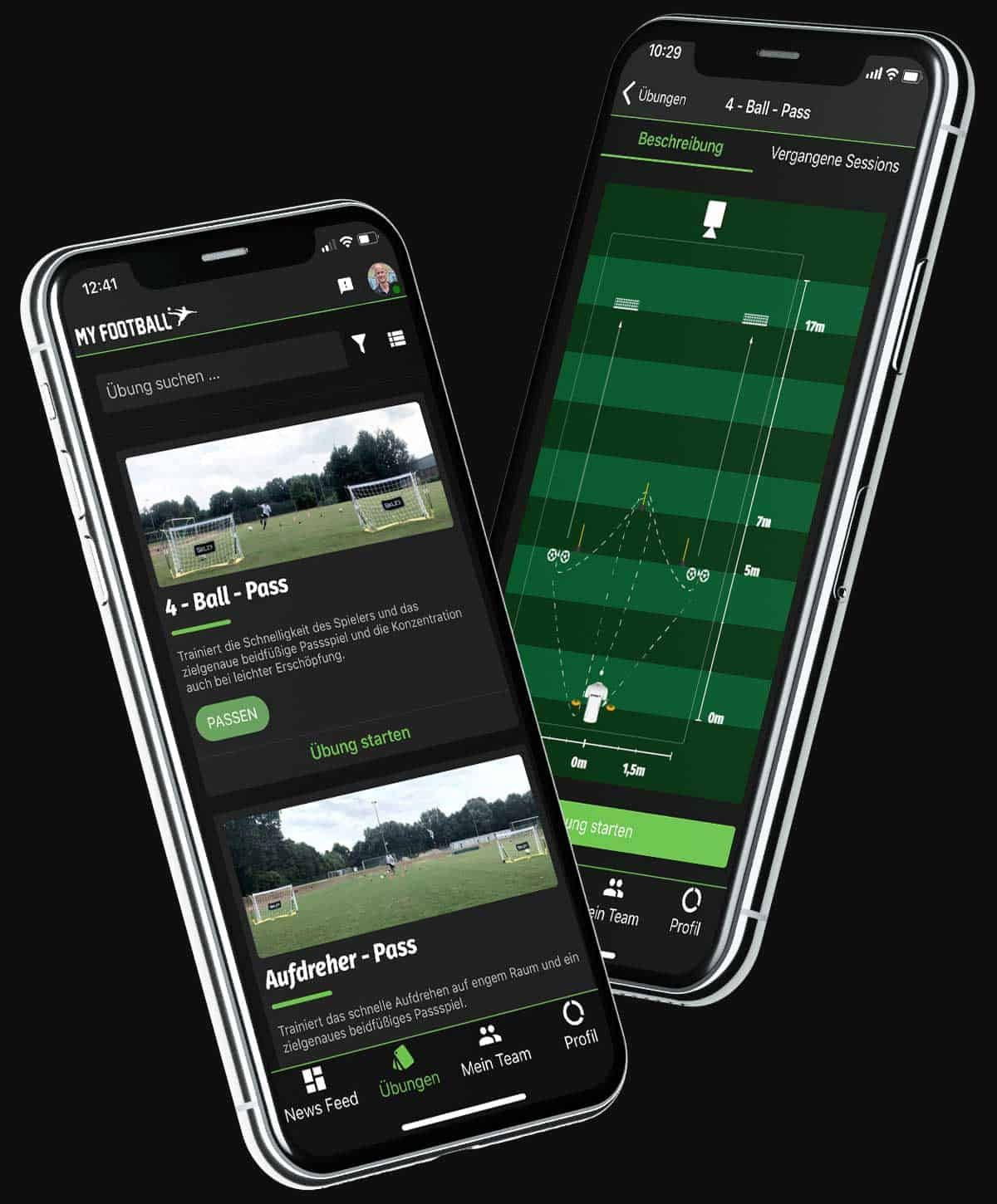 MY FOOTBALL Football App drills
