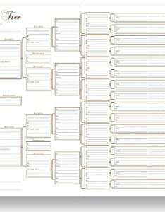 six generation pedigree chart single also blank family tree charts rh my history