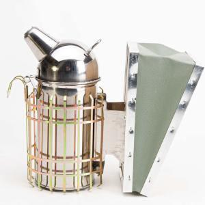 Beroker RVS met brandkoker - 8 cm