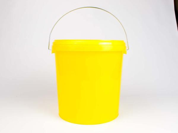 Honingemmer geel met deksel – 12,5 kg