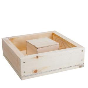 Mini Plus hout - voerbak 2.5 liter