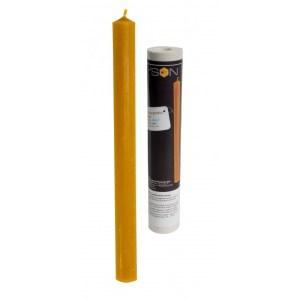 Lyson kaarsen gietvorm - Lange rechte kaars - hoogte 24 cm [FS417]